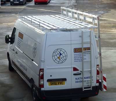 Van Ladder Racks